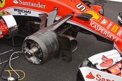 Ensamblado del freno delantero de Ferrari
