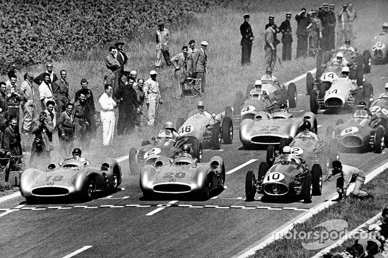 1954: Mercedes - зірка засяяла одразу