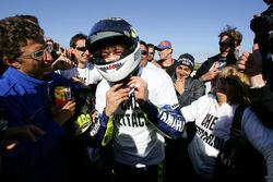 Il vincitore del campionato Valentino Rossi