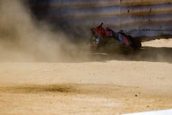 Невдача в повороті Штопор Девіде Джуліано, Aruba.it Racing - Ducati