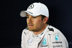 Нико Росберг, Mercedes AMG F1, на итоговой пресс-конференции