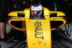 Sergey Sirotkin, testrijder Renault Sport F1 Team RS16
