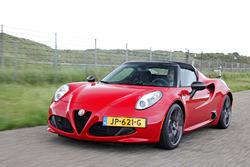 Alfa Romeo 4C CPZ, Track Edition