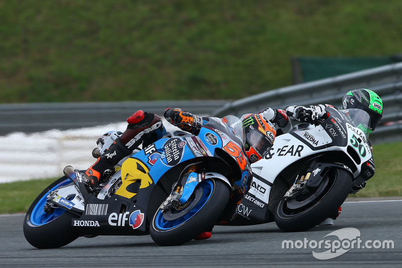 Tito Rabat, Marc VDS Racing Honda e Eugene Laverty, Aspar MotoGP Team