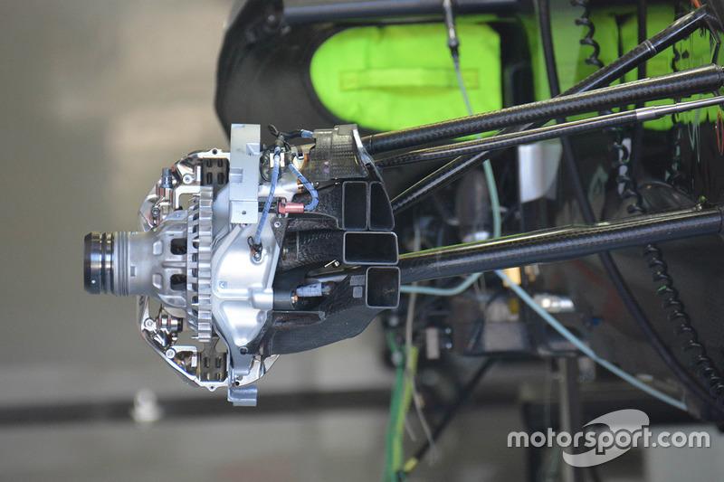 Force India VJM09: Vorderradbremse