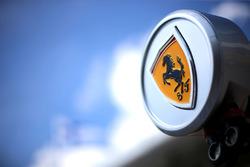 Scuderia Ferrari logo detail