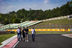 Костянтин Терещенко, Campos Racing; Штайн Шотхорст, Campos Racing і Алекс Палоу, Campos Racing