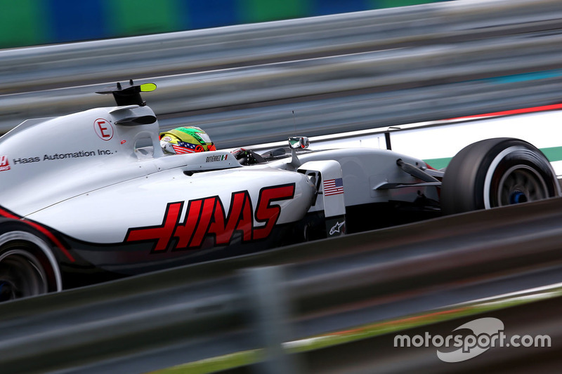 15: Esteban Gutierrez, Haas F1 Team