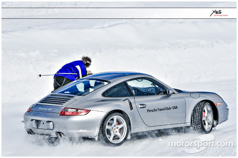 Porsche's in the Snow :-)