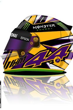 Lewis Hamilton 2017 helmet concept