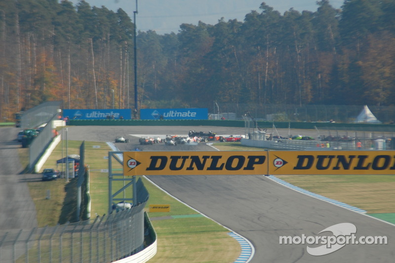 Brandon Hartley flips, F3 Euro Series Hockenheimring II 2008