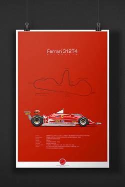 Ferrari 312T4 Gilles Villeneuve
