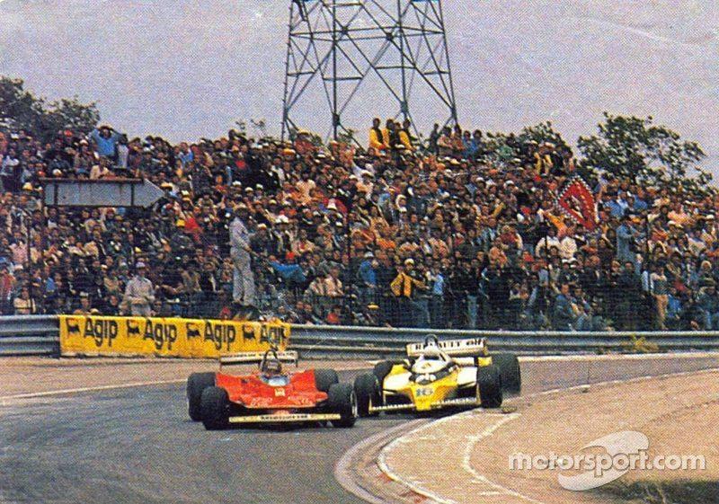 Gilles Villeneuve and René Arnoux