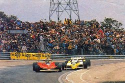 Gilles Villeneuve and René Arnoux