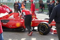Vallelunga Ferrari Driver Academy 2012 test