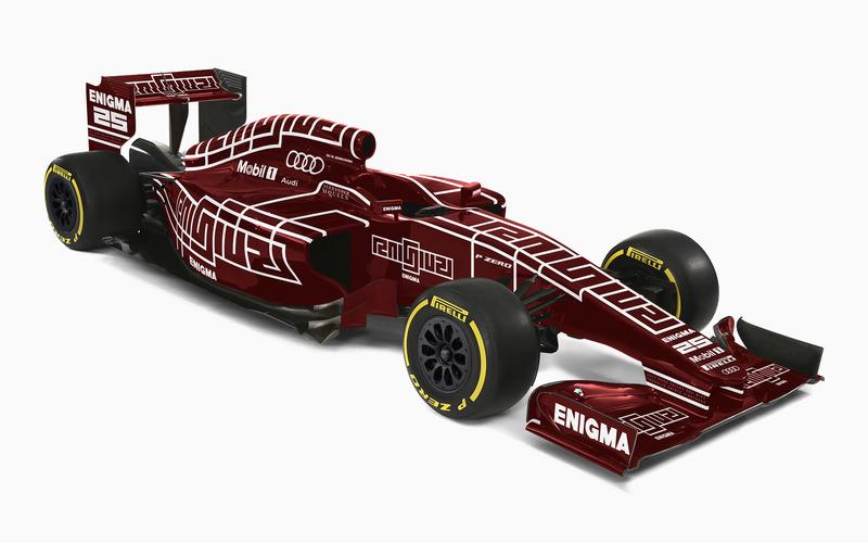 Enigma F1 Livery