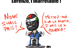 Nobody can stop Lorenzo !
