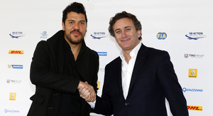 Global Thermostat's Ben Bronfman and Alejandro Agag, CEO of Formula E