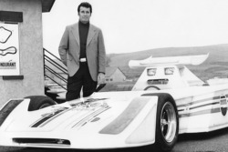 James Garner & 4 -seat IndyCar