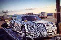 Cadillac GT3 Spy Shot