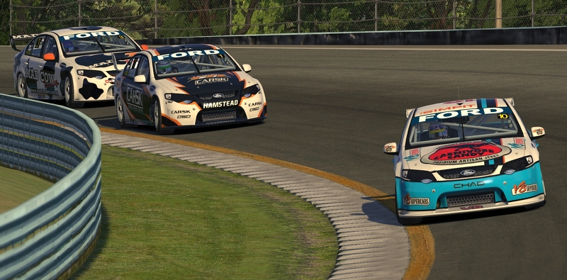 Going around The Outer Loop at Watkins Glen