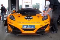 McLaren in the pits