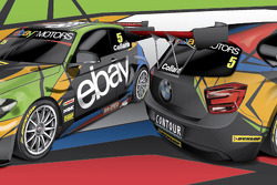 nickmossdesign.com - 2013 BTCC ebay motors racing Livery Design