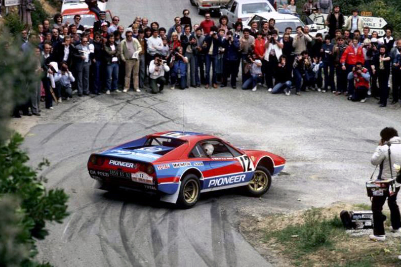 Ferrari в ралли