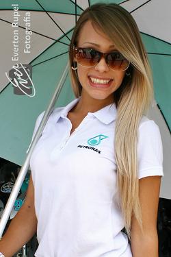 Brazilian Moto 1000 GP championship, paddock beauty