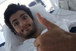 Carlos Sainz Jr., Scuderia Toro Rosso en el hospita