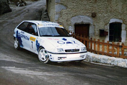 Экипаж Евгения Васина и Алексея Щукина, Ралли Монте-Карло 1996 года