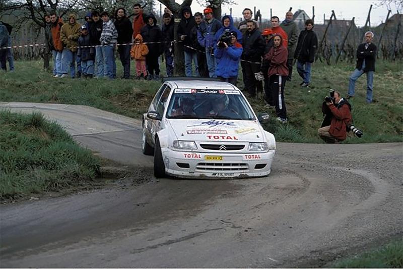 Себастьен Лёб и Даниэль Элена, Ралли National Val d'Agout 1998 года, Citroen Saxo kit-car