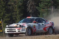 Петтер Сольберг и Эгил Солстад, 1997 год, Toyota Celica Turbo 4WD