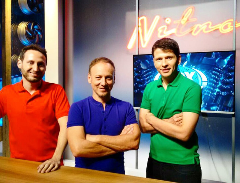 Thiago Alves, Flavio Gomes e Felipe Motta