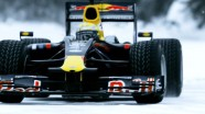 Red Bull Formula 1 Drives in Frozen Canada