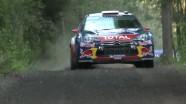 Citroen Racing - WRC - Finland 2011 - After SS3