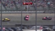 Montoya Hits Wall In Turn 4 - Dover International Speedway 2011