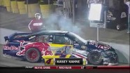 Kahne With Another Hard Hit - Richmond International Raceway 2011