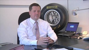 F1 Pirelli 2011 - Valencia - Paul Hembery Interview