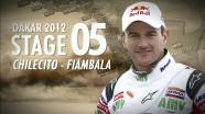 Dakar 2012 - Marc Coma - Stage 5 Clip