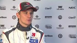 F1 Sauber C32-Ferrari Launch: Nico Hülkenberg