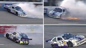 Dexter Stacey Crashes at Richmond!