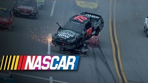 Kurt Busch goes for a wild ride | Aaron's 499 at Talladega (2013)