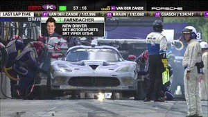 2013 Mosport Race Broadcast - ALMS - Tequila Patron - ESPN - Sports Cars - Racing - CTMP