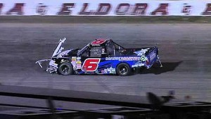 NASCAR Truck Crash at Eldora Speedway | The CARCASH Mudsummer Classic