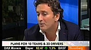 Formula E CEO Alejandro Agag on Bloomberg News