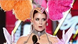 Danica Patrick Dresses Up As Vegas Showgirl