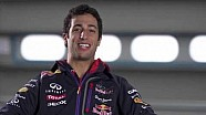 Daniel Ricciardo 2014 Pre Season Interview (RB10)