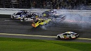 Matt Kenseth starts huge wreck in Sprint Unlimited - 2014 NASCAR Sprint Cup