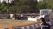 WRC Rally Guanajuato Mexico 2014 - Robert Kubica Crash SSS10